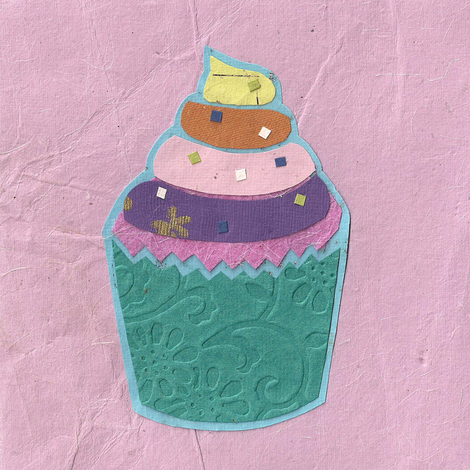 Paper Cake 3 fabric by glanoramay on Spoonflower - custom fabric