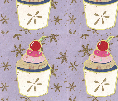 Paper Cake 4 fabric by glanoramay on Spoonflower - custom fabric
