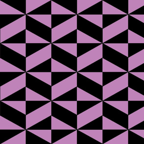 Lavender Block Illusion