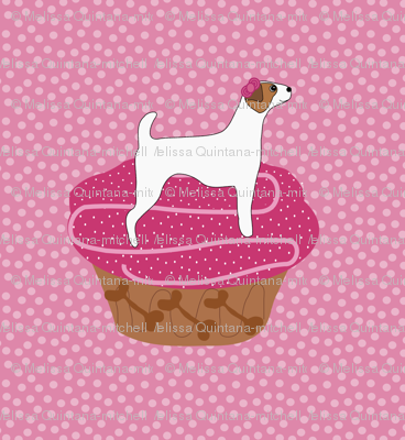 Jack Russell Pupcakes