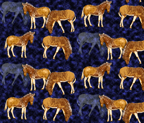 Quagga fabric by eclectic_house on Spoonflower - custom fabric
