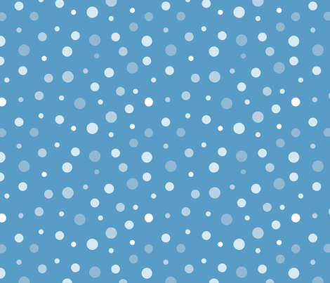 random-polkadot-blue fabric by danab78 on Spoonflower - custom fabric