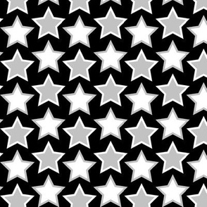 stars - black