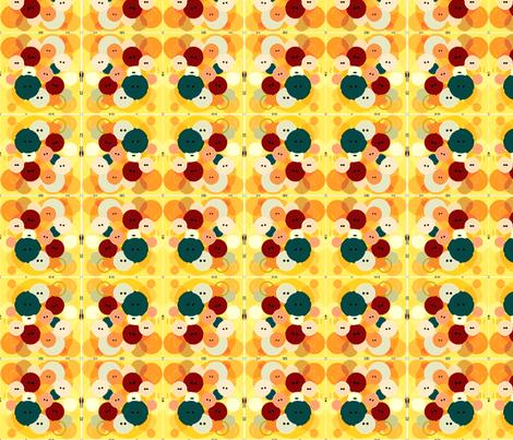 Buttons_Paintbrush fabric by kapsattic on Spoonflower - custom fabric