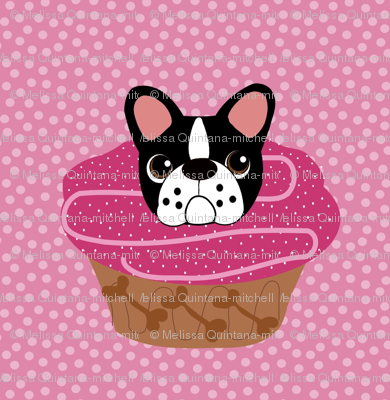 Frenchie Pupcakes