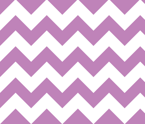 chevron lilac fabric by christiem on Spoonflower - custom fabric