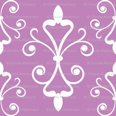 Lilac Scroll