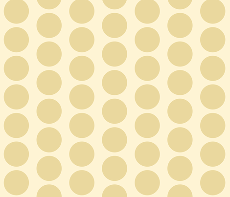 yellow_baby_tan_dot fabric by adrianne_nicole on Spoonflower - custom fabric