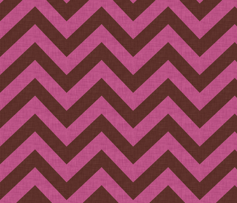 pink_chevrons fabric by holli_zollinger on Spoonflower - custom fabric
