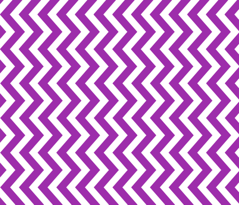 tillytom chevron - purple fabric by tillytom on Spoonflower - custom fabric