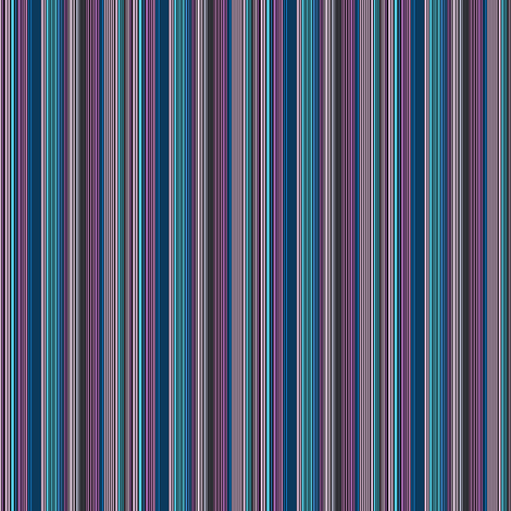Wee Vertical Stripes_BLACK fabric by tallulahdahling on Spoonflower - custom fabric