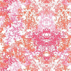 Wallpaper Floral - Pink & Coral