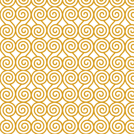17_orient_gold fabric by badda on Spoonflower - custom fabric