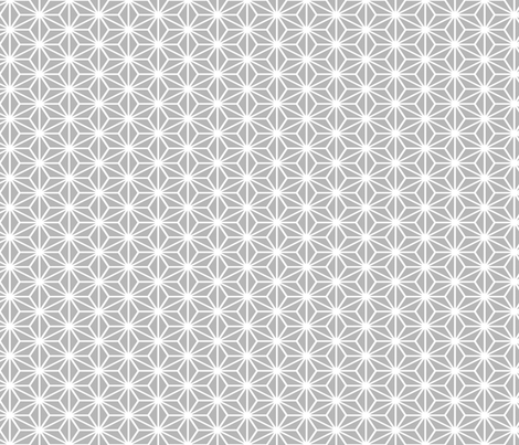 Simple Blocks, Gray fabric by animotaxis on Spoonflower - custom fabric
