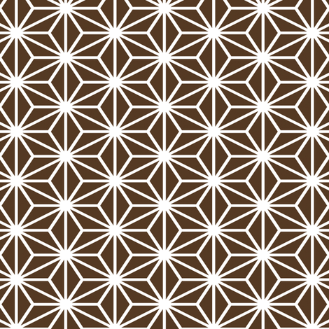 Simple blocks, Chocolate fabric by animotaxis on Spoonflower - custom fabric