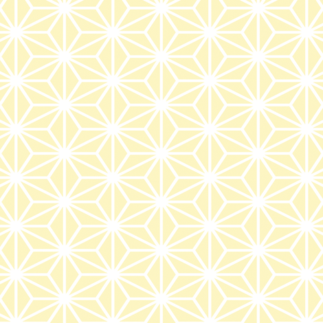 Simple Blocks, Pale Lemon Yellow fabric by animotaxis on Spoonflower - custom fabric