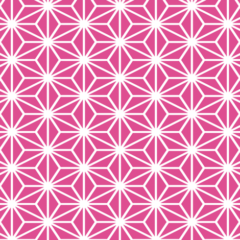 Simple Blocks, Fuchsia fabric by animotaxis on Spoonflower - custom fabric