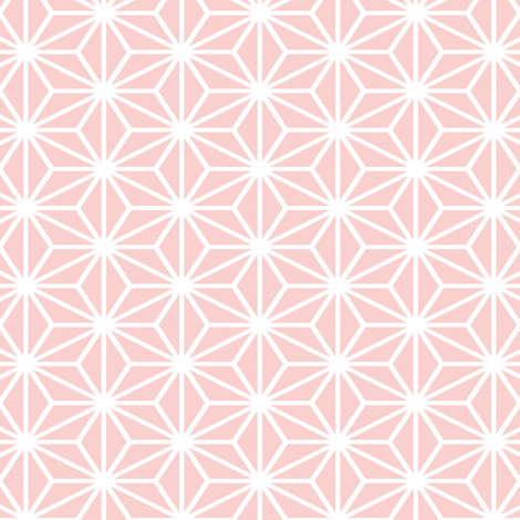 Simple Blocks, Pink fabric by animotaxis on Spoonflower - custom fabric