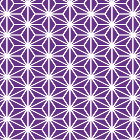 Simple Blocks, Violet fabric by animotaxis on Spoonflower - custom fabric