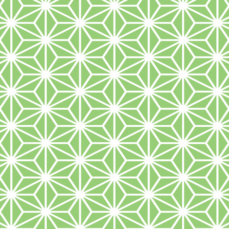 Simple Blocks, Emerald Green fabric by animotaxis on Spoonflower - custom fabric