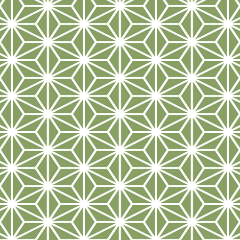 Simple Blocks, Moss Green fabric by animotaxis on Spoonflower - custom fabric