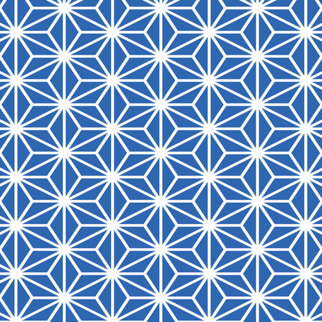 Simple Blocks, Royal Blue fabric by animotaxis on Spoonflower - custom fabric