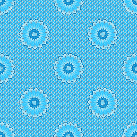 Sky Twist Dot fabric by joanmclemore on Spoonflower - custom fabric