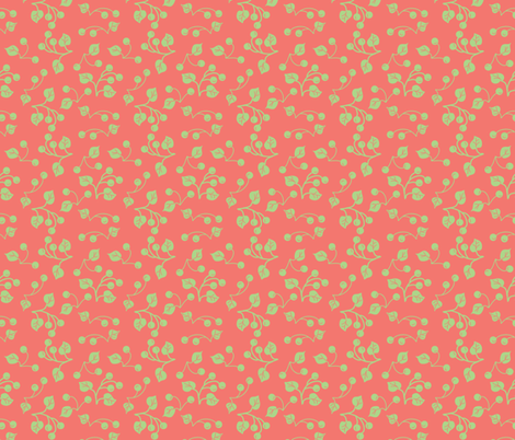 birdie_berries fabric by ©_lana_gordon_rast_ on Spoonflower - custom fabric