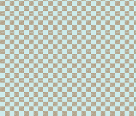 Birdie_Checks fabric by ©_lana_gordon_rast_ on Spoonflower - custom fabric