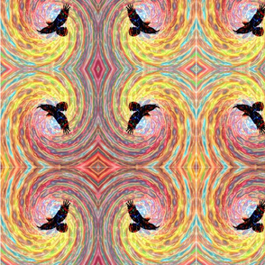 Fly Bird Digital Art