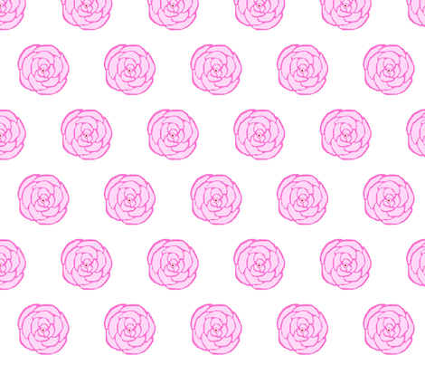 Big Rose fabric by suemc on Spoonflower - custom fabric