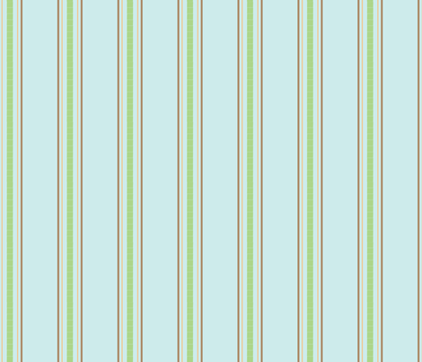 Birdie_Stripe fabric by ©_lana_gordon_rast_ on Spoonflower - custom fabric