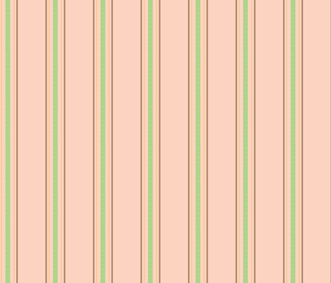 Birdie_Stripe_2 fabric by ©_lana_gordon_rast_ on Spoonflower - custom fabric