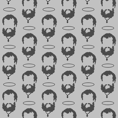 Saint Peter's Beard fabric by magneticcatholic on Spoonflower - custom fabric