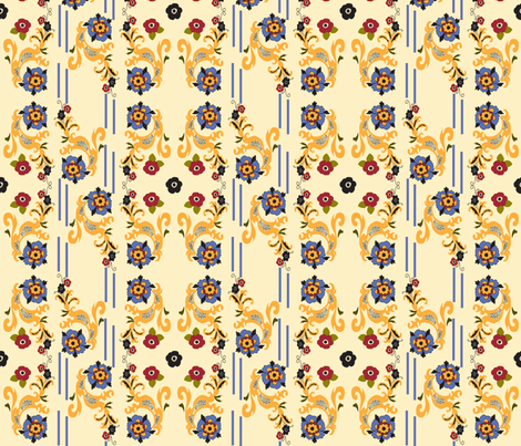 Provence_1 fabric by ©_lana_gordon_rast_ on Spoonflower - custom fabric