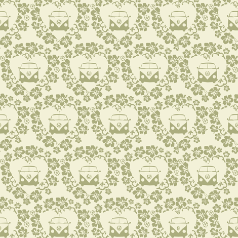 Floral Splits fabric by dogsndubs on Spoonflower - custom fabric