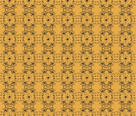 Provence_Black___Yellow fabric by lana_gordon_rast_ on Spoonflower - custom fabric