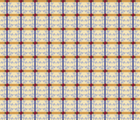 Provence_Plaid fabric by ©_lana_gordon_rast_ on Spoonflower - custom fabric