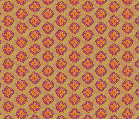 Anian Orange fabric by david_kent_collections on Spoonflower - custom fabric