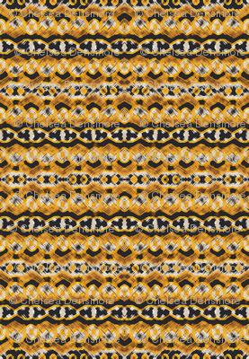 Montana Stripe - Gold