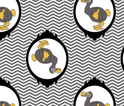 dodo1 fabric by mgterry on Spoonflower - custom fabric