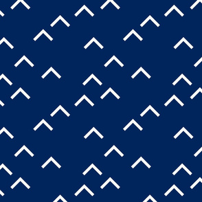 Random Arrows_Navy