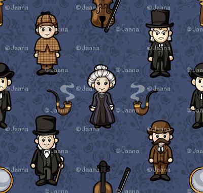 Cutesy Holmes (Blue)