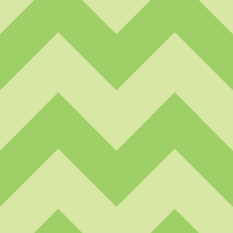 Mohito Chevron fabric by thepunkymonkey on Spoonflower - custom fabric
