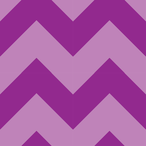Chevron_Berry fabric by thepunkymonkey on Spoonflower - custom fabric