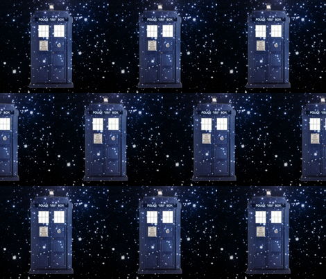 TIME TRAVEL fabric by bluevelvet on Spoonflower - custom fabric