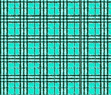 TEAL PLAID fabric by bluevelvet on Spoonflower - custom fabric