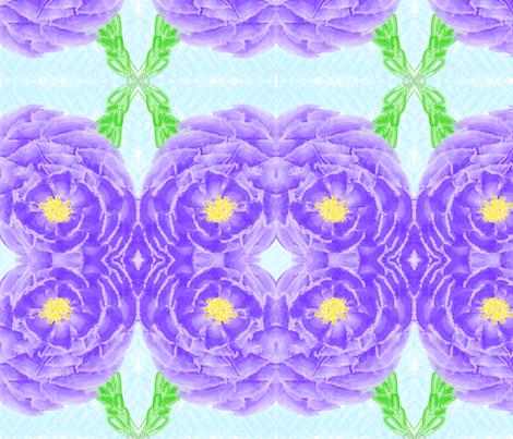 flowerwatercolor709 fabric by kati_falk_designs on Spoonflower - custom fabric