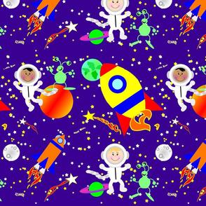 Speeding Through Space