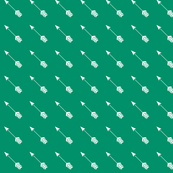 Arrow in Ocean Green